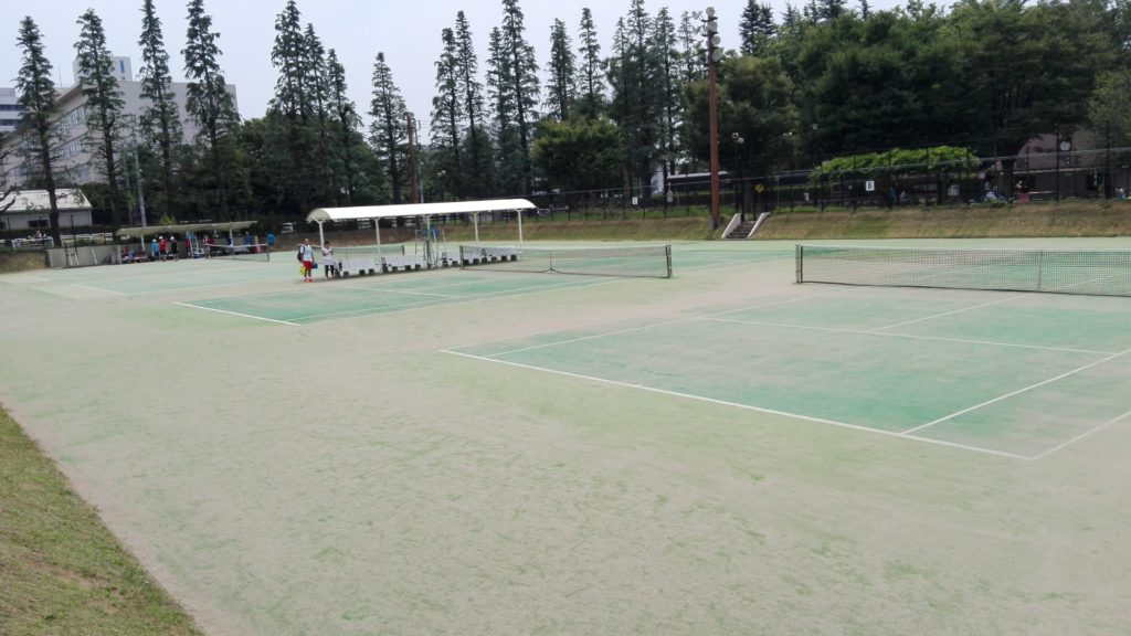 世田谷公園テニスコート