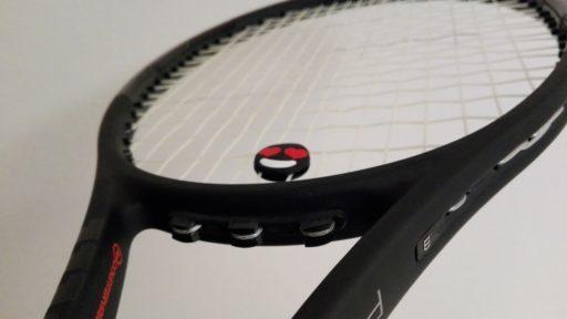 ラケットのストリング(ガット)を張る時に、当て革を着けた時の効果とは?