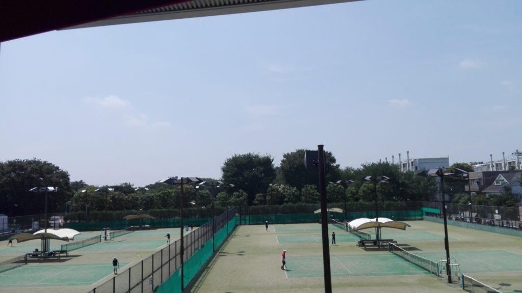 世田谷区民大会テニス会場の総合運動場